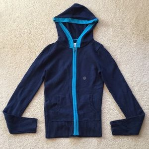 NWT Aeropostale knit zip up hoodie